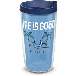 Tervis 16 oz. Life Is Good Hammock Travel Tumbler