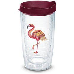 Tervis 16 oz. Coloful Flamingo Tumbler