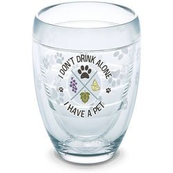 Tervis 9 oz. I Don't Drink Alone Stemless Wine Glass