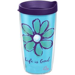 Tervis 16 oz. Life Is Good Daisy Tumbler
