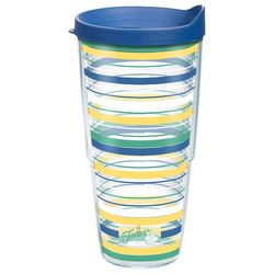 Tervis 24 oz. Fiesta Stripe Travel Tumbler
