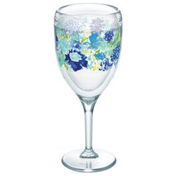Tervis 9 oz. Fiesta Meadow Floral Wine Glass