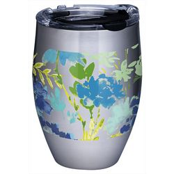 Tervis 12 oz. Stainless Steel Fiesta Floral Wine Tumbler