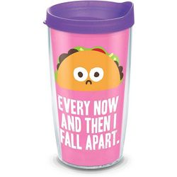Tervis 16 oz. Taco Fall Apart Travel Tumbler With Lid