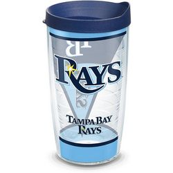 Tervis 16 oz. Tampa Bay Rays Batter Up Tumbler With Lid