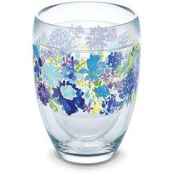 Tervis 9 oz. Fiesta Purple Floral Stemless Wine Glass