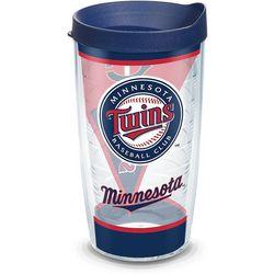 Tervis 16 oz. Minnesota Twins Batter Up Tumbler With Lid
