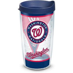 Tervis 16 oz. Nationals Batter Up Tumbler With Lid