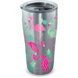 Tervis 20 oz. Stainless Steel Flamingo Tumbler