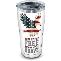 Tervis 20 oz. Stainless Steel Home Of Free Tumbler