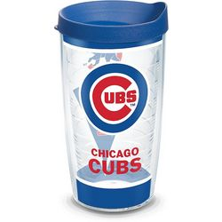 Tervis 16 oz. Chicago Cubs Batter Up Tumbler With Lid