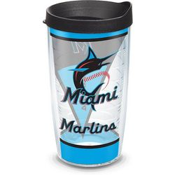 Tervis 16 oz. Miami Marlins Batter Up Tumbler With Lid