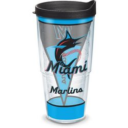 Tervis 24 oz. Miami Marlins Batter Up Tumbler With Lid