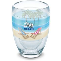 Tervis 9 oz. Life Is Better Stemless Wine Glass