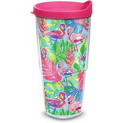 Tervis 24 oz. Bright Flamingo Tumbler With Lid