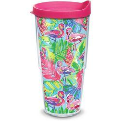 Tervis 24 oz. Bright Flamingo Tumbler With Lid