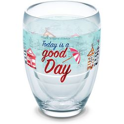 Tervis 9 oz. Today Is A Good Day Stemless Wine Glass