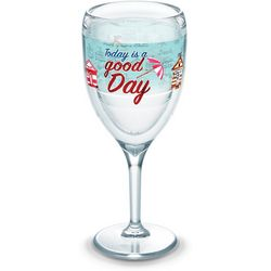 Tervis 9 oz. Today Is A Good Day Wine Glass