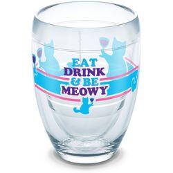 Tervis 9 oz. Be Meowy Stemless Wine Glass