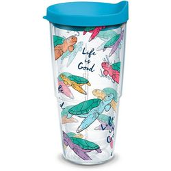 Tervis 24 oz. Life Is Good Turtle Tumbler with Lid
