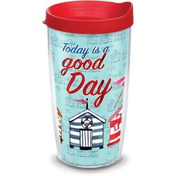 Tervis 16 oz. Good Day Cabanas Tumbler With Lid