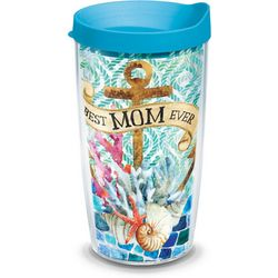 Tervis 16 oz. Best Mom Ever Coastal Tumbler With Lid