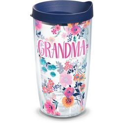 Tervis 16 oz. Grandma Dainty Floral Tumbler With Lid