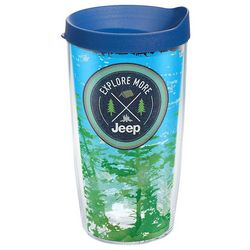 Tervis 16 oz. Jeep Explore More Travel Tumbler With Lid