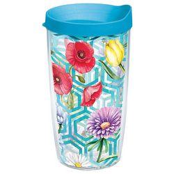 Tervis 16 oz. Floral Honeycomb Travel Tumbler
