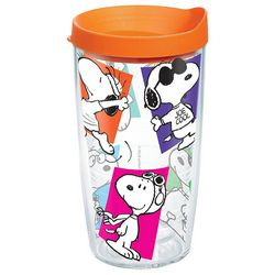 Tervis 16 oz. Peanuts Multi-Snoopy Travel Tumbler With Lid