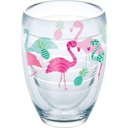 Tervis 9 oz. Flamingo Stemless Wine Glass
