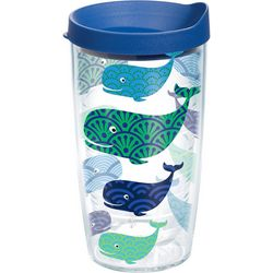 Tervis 16 oz. Whale Travel Tumbler