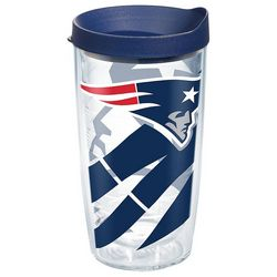Tervis 16 oz. New England Patriots Wrap Tumbler With Lid