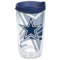 Tervis 16 oz. Dallas Cowboys Travel Tumbler With Lid
