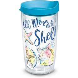 Tervis 16 oz. Simply Southern Call Me On My Shell Tumbler
