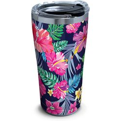 Tervis 20 oz. Stainless Steel Tropical Floral Travel Tumbler
