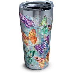 Tervis 20 oz. Stainless Steel Butterfly Glow Tumbler
