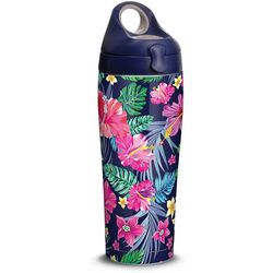 Tervis 24 oz. Stainless Steel Tropical Flowers Water Bottle