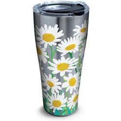 Tervis 30 oz. Stainless Steel Painted White Daisies Tumbler