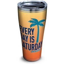 Tervis 30 oz. Stainless Steel Life Is Good Saturday Tumbler