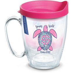 Tervis 16 oz. Simply Southern Happy Turtle Travel Mug