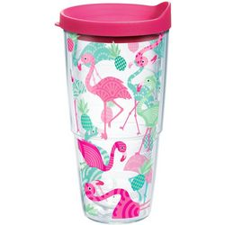 Tervis 24 oz. Flamingo Pattern Tumbler With Lid