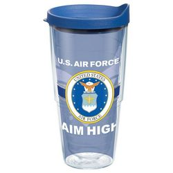 Tervis 24 oz. Air Force Pride Tumbler With Lid