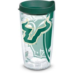 Tervis 16 oz. USF Bulls Genuine Travel Tumbler With Lid