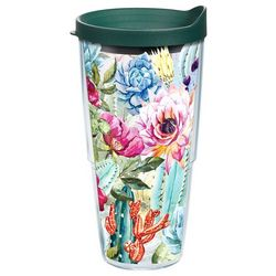Tervis 24 oz. Colorful Succulents Tumbler With Lid