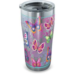 Tervis 20 oz. Stainless Steel Butterfly Tumbler