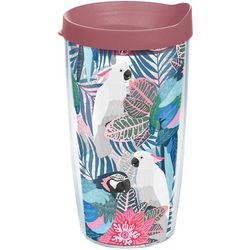 Tervis 16 oz. Tropical Birds Tumbler With Lid