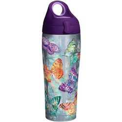 Tervis 24 oz. Stainless Steel Butterfly Glow Water Bottle