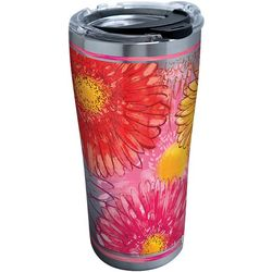 Tervis 20 oz. Stainless Steel Colossal Daisy Tumbler