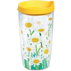 Tervis 16 oz. Painted Daisies Tumbler With Lid